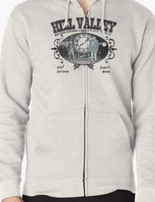 Hill Valley 1885 Zipped Hoodie