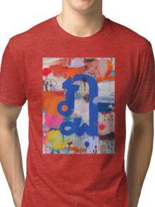"Thai Characters ""ฏ"" Tri-blend T-Shirt"