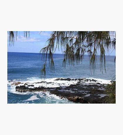 Ocean View - Island of Kauai Photographic Print