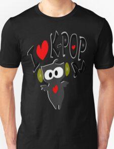 I love kpop owl vector art Unisex T-Shirt