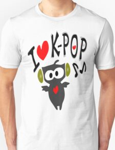I love kpop owl vector art Unisex T-Shirt