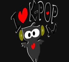 I love kpop owl vector art Women's Fitted V-Neck T-Shirt