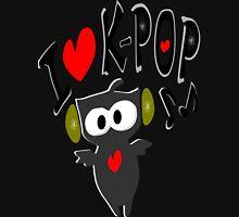 I love kpop owl vector art Women's Fitted V-Neck T-Shirt