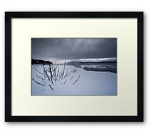 Threatening Framed Print