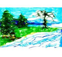 Scribblers Landscape Photographic Print