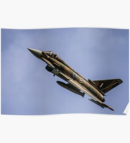 Eurofighter Typhoon ZK349 Poster