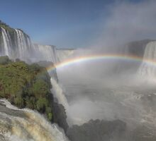 Iguazu Falls by Paul Duckett