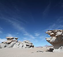 Desert Formations by Paul Duckett