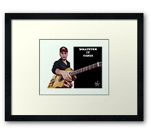 Tom Morello: The Nightwatchman Framed Print