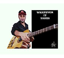 Tom Morello: The Nightwatchman Photographic Print