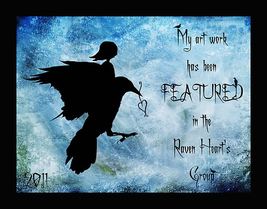 My art work has been featured in Raven Heart&#x27;s Group by Rookwood Studio 