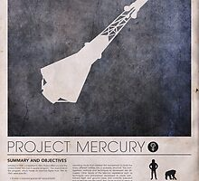 Astronaut - Mercury Info by JustinVG