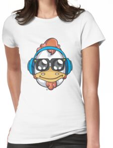 Music Emoticon  Womens Fitted T-Shirt