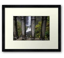 Jail of water Framed Print