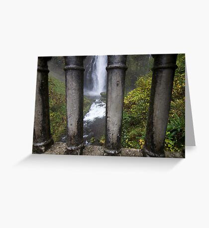 Jail of water Greeting Card