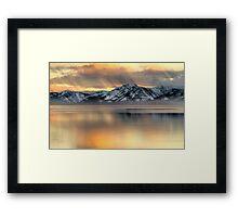 Tahoe Mood Framed Print