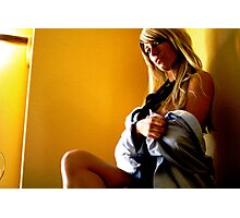 office seductress Photographic Print