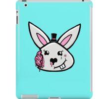 Bunny brains in formal wear iPad Case/Skin