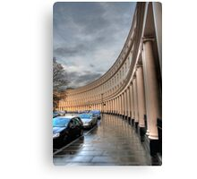 Crescent portico Canvas Print