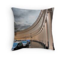 Crescent portico Throw Pillow