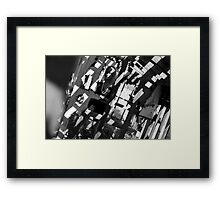 shadows in the cradle Framed Print