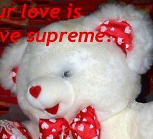 Love supreme teddy by ♥⊱ B. Randi Bailey