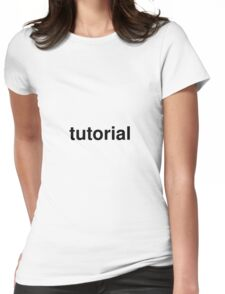 tutorial Womens Fitted T-Shirt