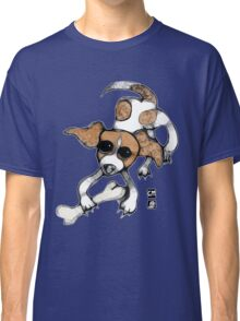 puppy playing tee Classic T-Shirt