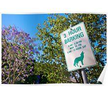 3 Hour Barking Poster