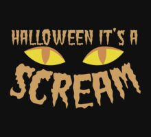 Halloween it's a SCREAM!!! with eyes Kids Clothes