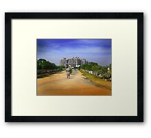 tiresome person Framed Print