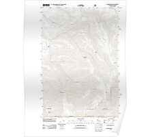 USGS Topo Map Washington Kooskooskie 20110914 TM Poster