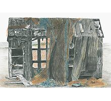 Dungeness Shack Photographic Print