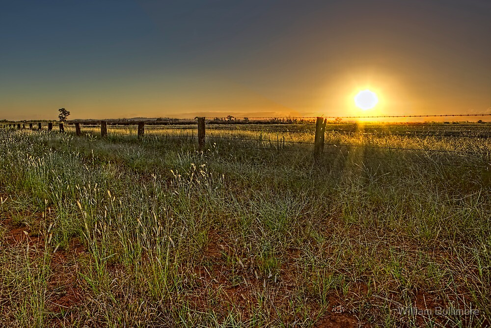 Sunset at Parkes • New South Wales • Australia by William Bullimore