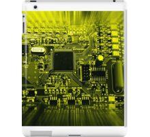 acid microchips iPad Case/Skin