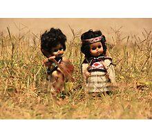 Tama, Moana & Rangi hit Coro_1 Photographic Print