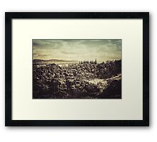 Thingvellir Framed Print