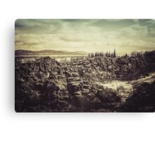 Thingvellir Canvas Print