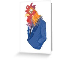 Corporate Cock Greeting Card