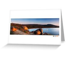 Lucky Bay II Greeting Card
