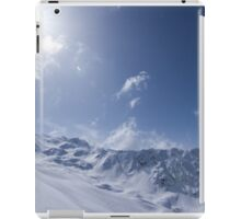 life's better in the mountains iPad Case/Skin