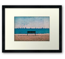 The Regatta Framed Print