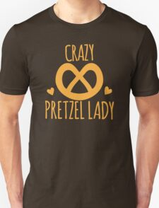 Crazy Pretzel Lady T-Shirt