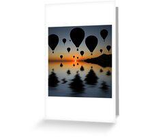 Sundowner Silhouette Greeting Card