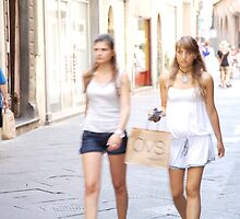 peoplescapes #222, girls, girls,   by stickelsimages
