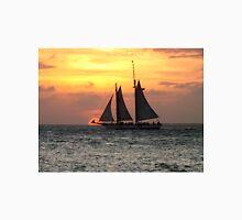 Sunset Sail in Key West Unisex T-Shirt