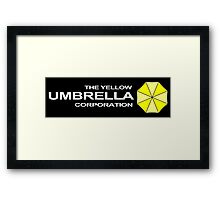 The Yellow Umbrella Corporation Framed Print