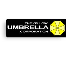The Yellow Umbrella Corporation Canvas Print