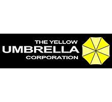 The Yellow Umbrella Corporation Photographic Print