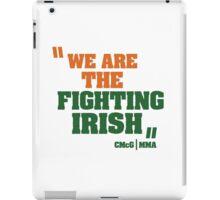 Conor McGregor - Quotes [Fighting Irish] iPad Case/Skin